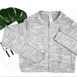 Fabletics magnolia gray jacket